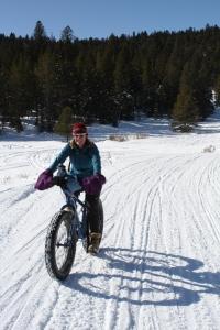 Fat biking -Tetons (photo: G.Markowa