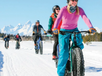 Fat Bikes and E-bikes: Winter Trail Etiquette -Where to ride & not to ride